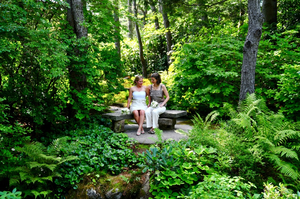 Erin U0026 Jill | Committed! 08.21.10 | Asticou Azalea Garden Wedding | Maine Wedding Photographer ...